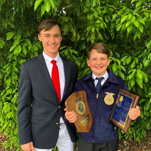 Click to Read Central Middle School Agriculture Student Wins Top Honors at State FFA Convention